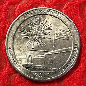 2013  D  MARYLAND FT MCHENRY US QUARTER