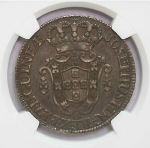 Click now to see the BUY IT NOW Price! NGC XF40 1770 ANGOLA 12MACUTAS SILVER TONED ONLY TWO FINER