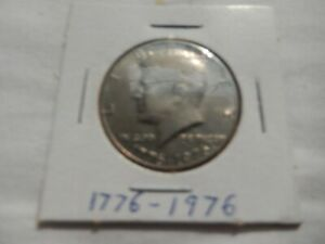 1776 1976 KENNEDY HALF DOLLAR CIRCULATED   PERFECT FOR COIN BOOKS