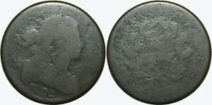 1802 DRAPED BUST LARGE CENT   LOW GRADE FILLER   KM22   MX559
