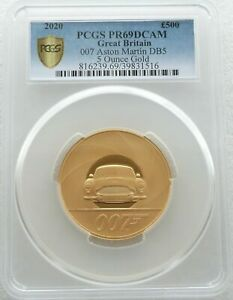 Click now to see the BUY IT NOW Price! 2020 JAMES BOND 007 SPECIAL ISSUE 500 POUND GOLD PROOF 5OZ COIN PCGS PR69 DC
