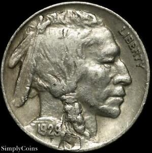 1929 S PLANCHET ERROR BUFFALO NICKEL   XF LY FINE   US COIN A SKU 1606