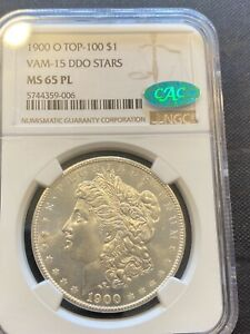 M13131  1900 O VAM 15 VAM 15 DDO STARS MORGAN NGC MS65 PL   POP 1/0 FINEST KNOWN