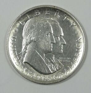 1926 SESQUICENTENNIAL OF AMERICAN IND. SILVER COMMEM HALF DOLLAR ALMOST UNC