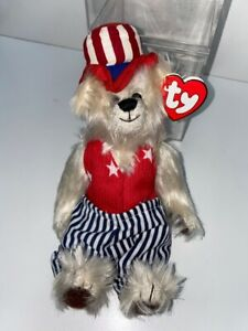 TY BEANIE BABY ATTIC TREASURES COLLECTION UNCLE SAM  MGP002955