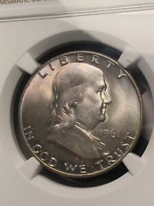 Click now to see the BUY IT NOW Price! 1961 D FRANKLIN HALF DOLLAR MS67 POPULATION 1 OF 1 FINEST KNOWN