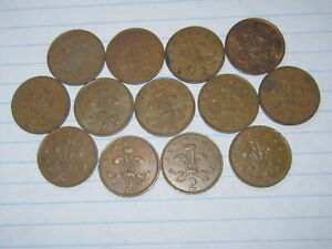 LOT OF 13 WORLD COINS 174  FREE COMBINED SHIPPING