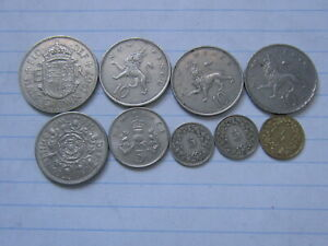 LOT OF 9 WORLD COINS 181  FREE COMBINED SHIPPING