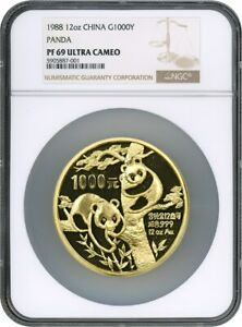 Click now to see the BUY IT NOW Price! 1988 1000Y NGC PR 69 PANDA UCAM