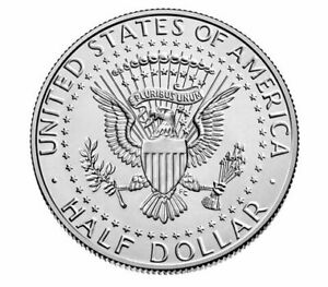 KENNEDY 2020 HALF DOLLARS UNCIRCULATED P & D DIRECT FROM US MINT