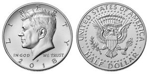 KENNEDY 2018 HALF DOLLARS UNCIRCULATED P & D DIRECT FROM US MINT