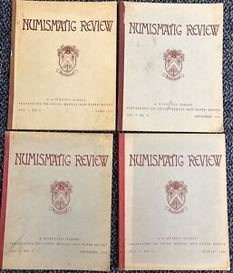 1. 1943 44 NUMISMATIC REVIEW 4 ISSUES