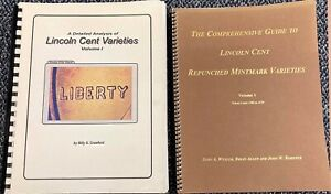 13. TWO BOOKS  LINCOLN CENTS RPM & DIE VARIETIES