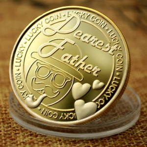 FATHER'S COIN SILVER AND GOLD PLATING COLLECTION OF COMMEMORATIVE METAL BADGES