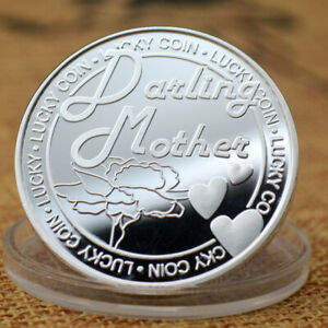 MOTHER'S COIN SILVER AND GOLD PLATING COLLECTION OF COMMEMORATIVE METAL BADGES