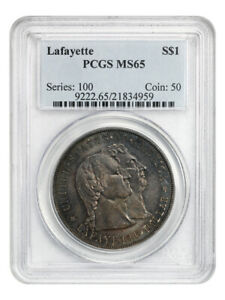 1900 LAFAYETTE $1 PCGS MS65   THE ONLY $1 CLASSIC COMMEM