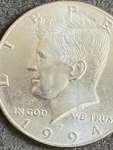 Click now to see the BUY IT NOW Price! 1994 KENNEDY HALF DOLLAR MULTIPLE ERRORS DOUBLE CHIN EAR AND NOSE