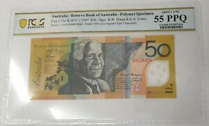 Click now to see the BUY IT NOW Price! AUSTRALIA 1995 . FIFTY DOLLARS . COLLECTOR'S SPECIMEN . PCGS SLABBED