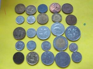 25 MIXED WORLD COINS [784] WELL WORTH CONSIDERATION.BUY NOW BARGAIN