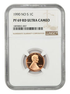 Click now to see the BUY IT NOW Price! 1990 NO S 1C NGC PR 69 RD UCAM   TIED FOR FINEST KNOWN   TIED FOR FINEST KNOWN