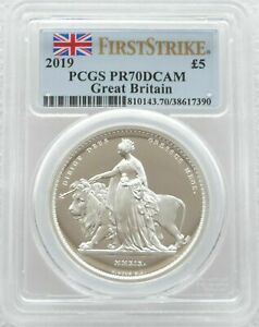 Click now to see the BUY IT NOW Price! 2019 UNA AND THE LION 5 POUND SILVER PROOF 2OZ COIN PCGS PR70 DCAM FIRST STRIKE