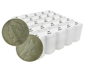 Click now to see the BUY IT NOW Price! 1922 1926 SILVER PEACE DOLLAR VG/VF LOT OF 1000 S$1 COINS