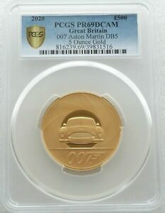 Click now to see the BUY IT NOW Price! 2020 JAMES BOND 007 SPECIAL ISSUE 500 POUND GOLD PROOF 5OZ COIN PCGS PR69 DCAM