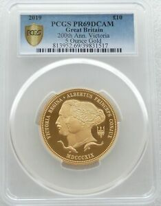 Click now to see the BUY IT NOW Price! 2019 ROYAL MINT QUEEN VICTORIA 10 POUND GOLD PROOF 5OZ COIN PCGS PR69 DC