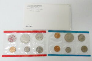 1971 US 11 COIN MINT SET ORIGINAL GOVERNMENT PACKAGING