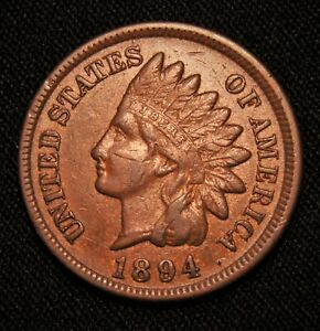 1894 INDIAN HEAD PENNY BETTER DATE