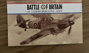 1990 MARSHALL ISLANDS BATTLE OF BRITAIN $5 COMMEMORATIVE COIN
