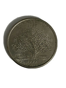 Click now to see the BUY IT NOW Price! 1999 P CONNECTICUT STATE QUARTER COIN   1788   THE CHARTER OAK