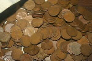 500  1909 1939 PDS  MIXED LOT LINCOLN WHEAT CENTS