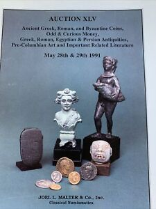 ANCIENT GREEK ROMAN AND EGYPTIAN COINS AND RELATED ARTIFACTS CATALOG.