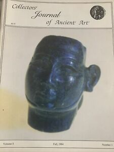 COLLECTORS JOURNAL OF ANCIENT ART VOLUME FIVE FALL 1984 NUMBER ONE.