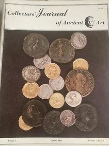 COLLECTORS JOURNAL OF ANCIENT ART VOLUME TWO SPRING 1981 S 2 3 & 4.
