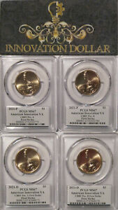 Click now to see the BUY IT NOW Price! 2021 P & D INNOVATION DOLLAR VA BAY BRIDGE TUNNEL PCGS MS67 FIRST STRIKE POS A&B
