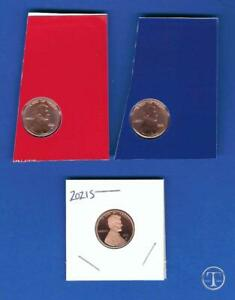 2021 P D S BU AND PROOF LINCOLN CENT PENNY SET PDS P AND D COINS FROM MINT SET