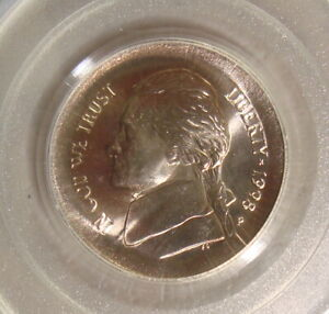 Click now to see the BUY IT NOW Price! 1998 P JEFFERSON NICKEL LARGE BROADSTRUCK OUT OF COLLAR ERROR COIN PCGS MS66FS
