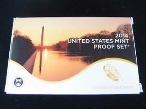 Click now to see the BUY IT NOW Price! 2014 UNITED STATES MINT PROOF SET   S  14 COINS