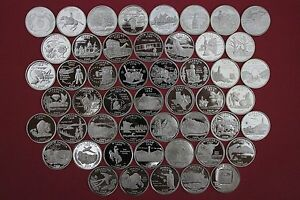 Click now to see the BUY IT NOW Price! 50 SILVER STATE QUARTERS SET 1999 2000 2001 2002 2003 2004 2005 2006 2007 2008