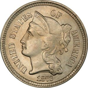 Click now to see the BUY IT NOW Price! 1873 3CN OPEN 3 THREE CENT NICKEL PCGS MS66  CAC