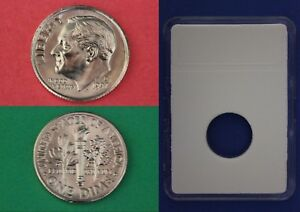 1997 D ROOSEVELT DIME WITH DIY SLAB FROM MINT SETS FLAT RATE SHIPPING