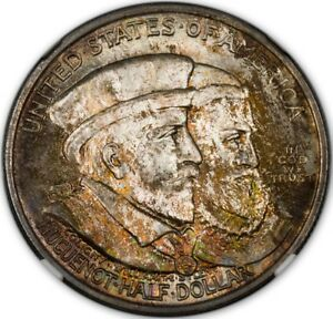 Click now to see the BUY IT NOW Price! HUGUENOT 1924 SILVER COMMEMORATIVE 50C NGC MS67   CAC