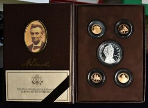 2009 LINCOLN COIN & CHRONICLES SET   5 COINS