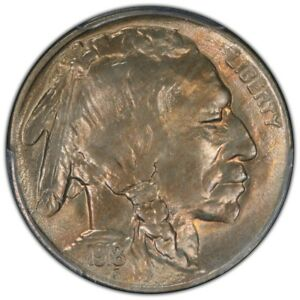 Click now to see the BUY IT NOW Price! 1918 S 5C BUFFALO NICKEL PCGS MS65