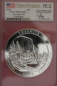 Click now to see the BUY IT NOW Price! 2010  MS69 DMPL YOSEMITE NP 5 OUNCE SILVER 1RST STRIKE PCGS SIGNATURE OCE 426