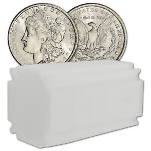 Click now to see the BUY IT NOW Price! US MORGAN SILVER DOLLAR   ROLL OF 20 COINS   AU/BU   PRE 1921 RANDOM DATE