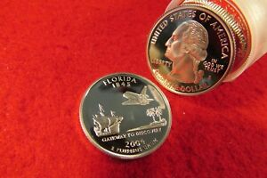 Click now to see the BUY IT NOW Price! ROLL OF PROOF 2004 FLORIDA STATE QUARTERS