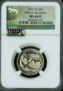 Click now to see the BUY IT NOW Price! 2017 D EFFIGY MOUNDS QUARTER NGC MAC MS68 DMPL SOLO FINEST REGISTRY SPOTLESS
